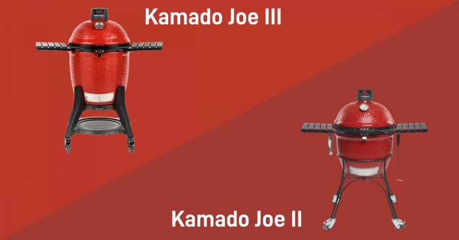Difference In Kamado Joe II & III Grills