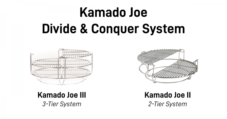 Kamado Joe Divide and Conquer System Differences