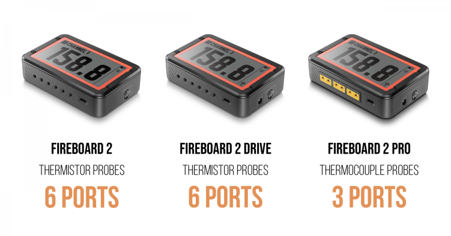 Fireboard 2 Thermometer Probe Types