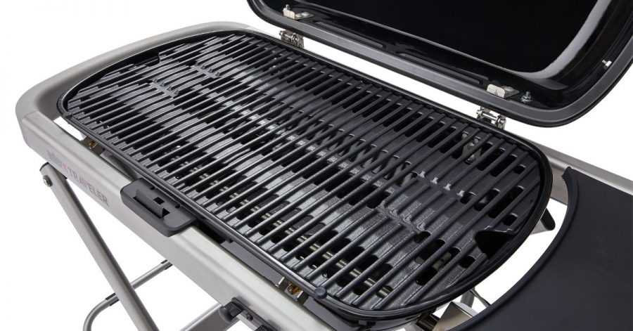Weber Traveler Gas Grill Porcelain Enameled Cast Iron Grate