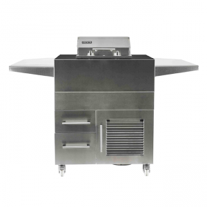 Coyote Outdoor Living Single Burner Electric Grill Island