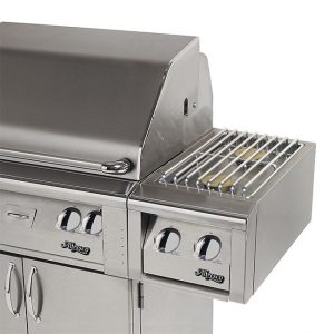 Alfresco Dual Side Burner For Cart