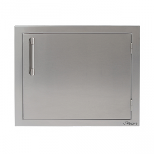alfresco grills single access door