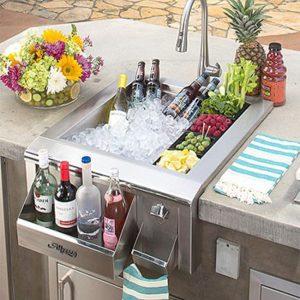 alfresco grills versa sink beverage center