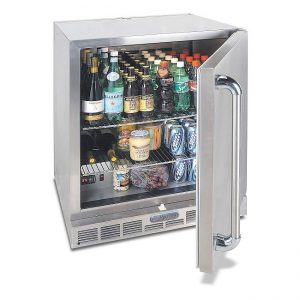alfresco grills single door fridge
