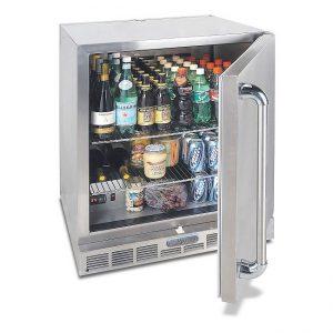 alfresco grills single door fridge