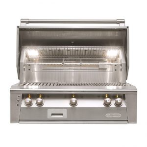 "Alfresco grills 36"" built-in gas grill"