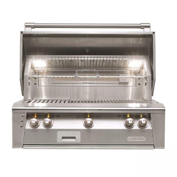 "Alfresco grills 36"" built-in gas grill"
