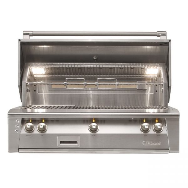 "alfresco grills 42"" built-in gas grill"