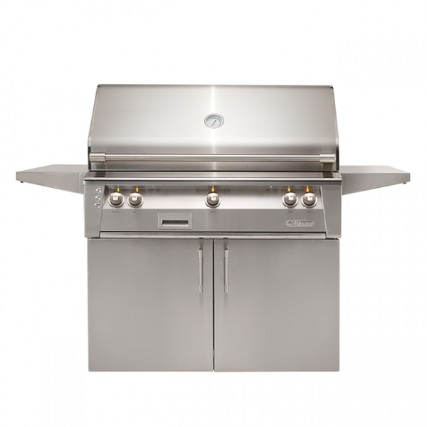 "alfresco grills 42"" standard cart gas grill"