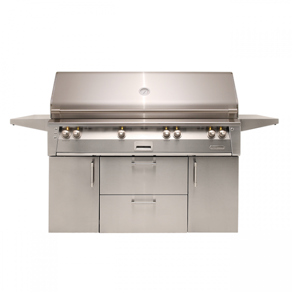 "alfresco grills 56"" standard cart gas grill"