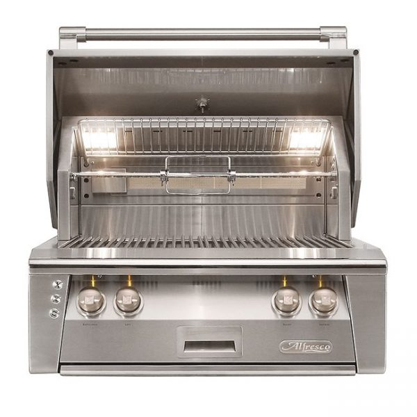 "alfresco grills 30"" built-in gas grill"
