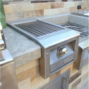 Alfresco Grills Built-In Sear Zone Side Burner