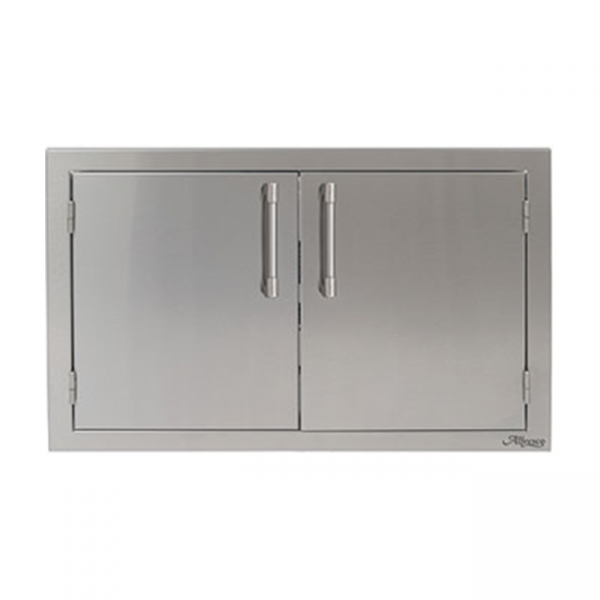 alfresco grills double access doors