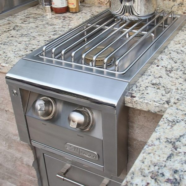 alfresco grills built-in side burner