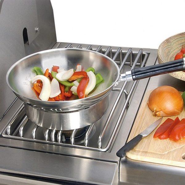 Alfresco Grills Side Burner For Cart Grill