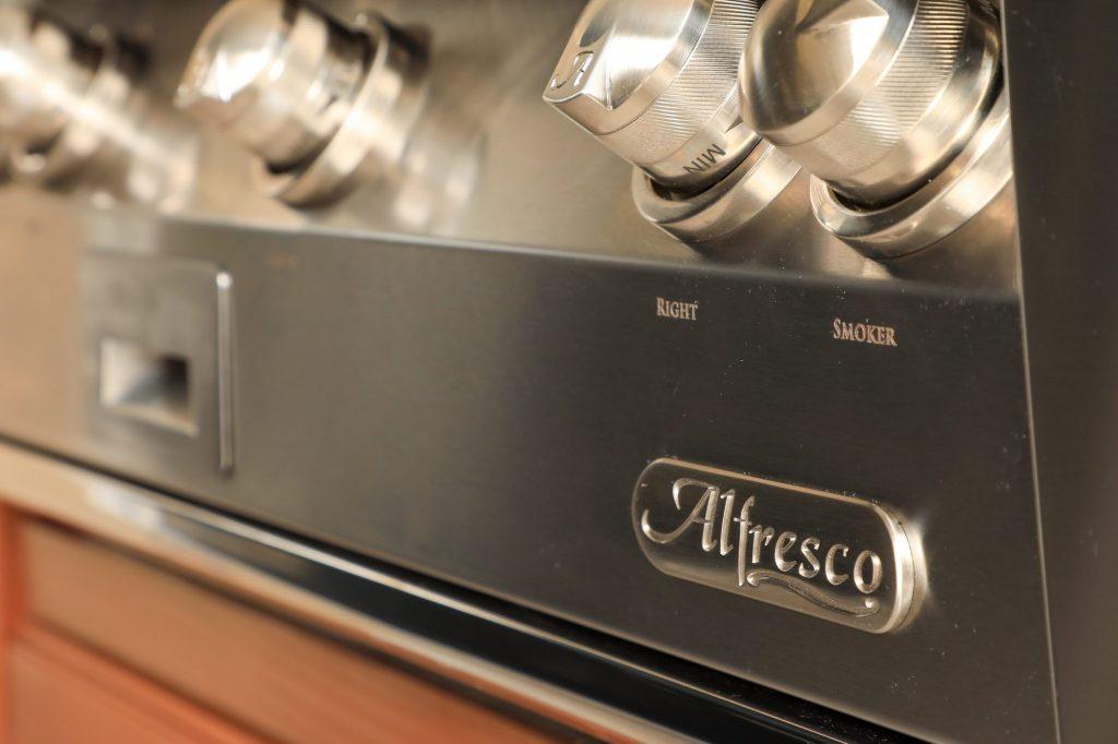Alfresco Grills built-in grill