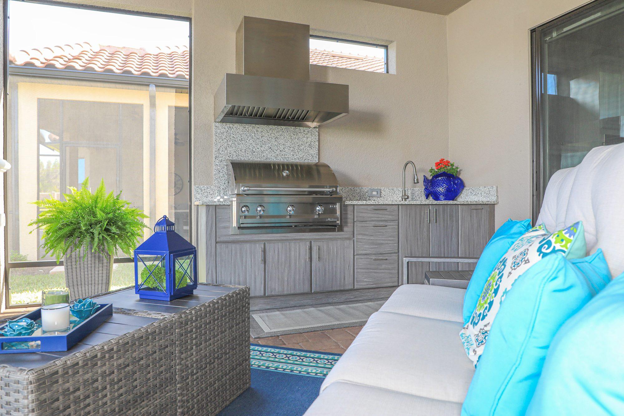 outdoor kitchen in odessa