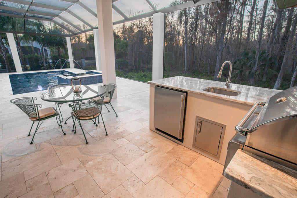 Outdoor Kitchen In Lutz