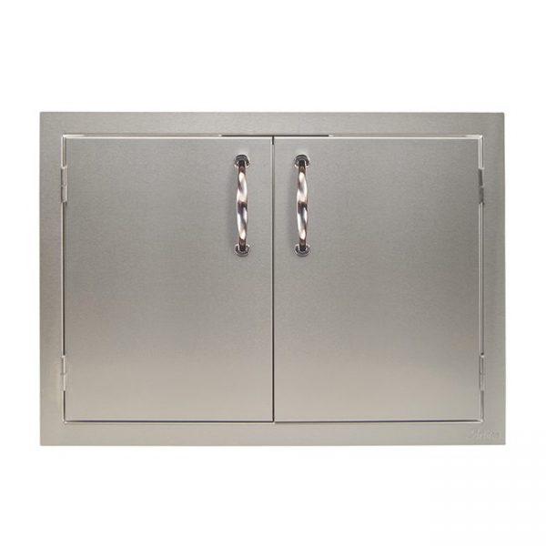 artisan grills double doors