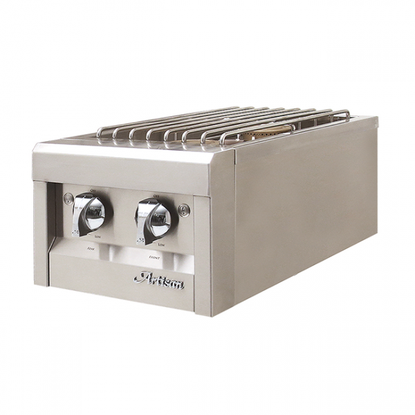 artisan grills dual side burner