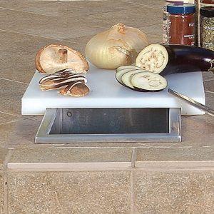 artisan grills waste chute