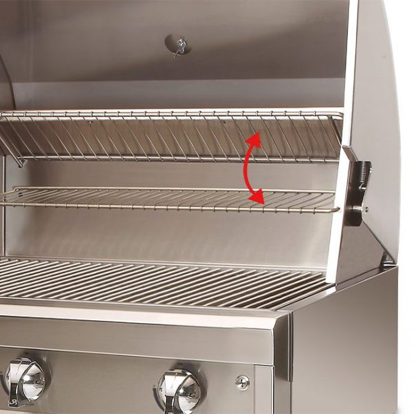 artisan grills two position warming rack