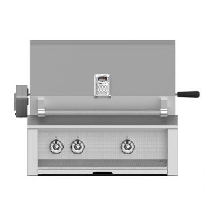 Aspire By Hestan 30-Inch Built-In Gas Grill With Rotisserie Steeleto