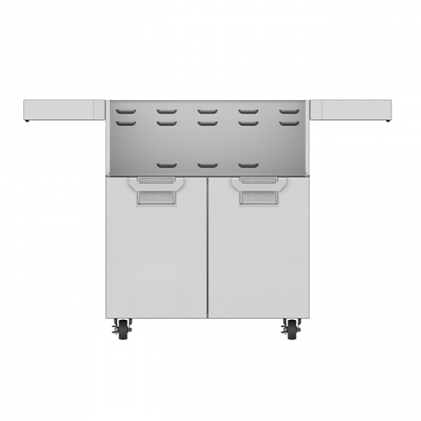 Aspire By Hestan 30-Inch Double Door Grill Cart Stainless Steel
