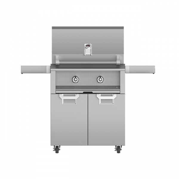 Aspire By Hestan 30-Inch Gas Grill On Cart Steeleto