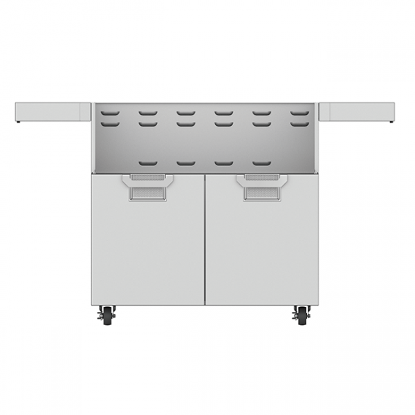 Aspire By Hestan 36-Inch Double Door Grill Cart Stainless Steel