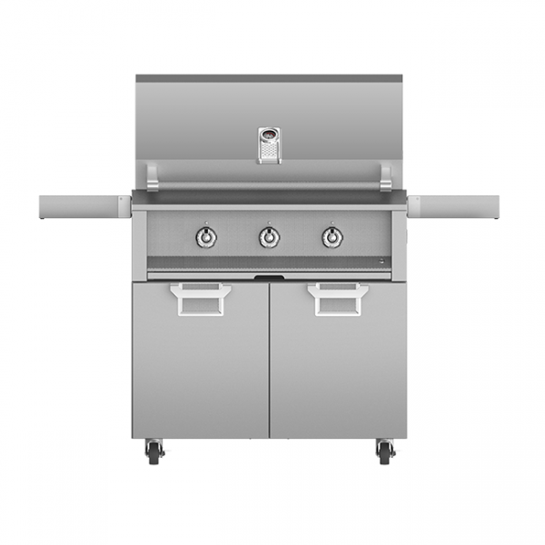Aspire By Hestan 36-Inch Gas Grill On Cart Stainless Steel