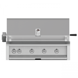 Aspire By Hestan 36-Inch Built-In Gas Grill With Rotisserie Stainless Steel