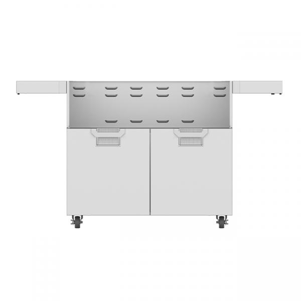 Aspire By Hestan 42-Inch Double Door Grill Cart Stainless Steel