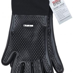 BBQ Butler Cloth-Lined Silicone Gloves