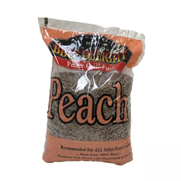 BBQr's Delight Peach Pellets 20 LBS