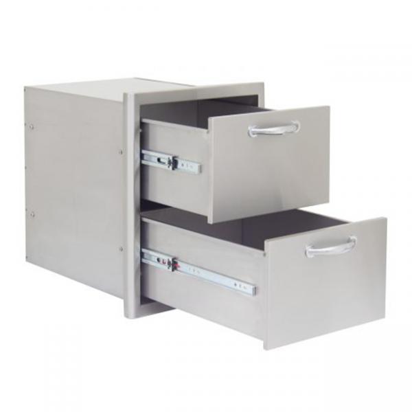 Blaze double access drawer