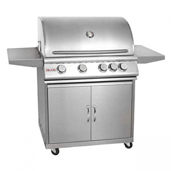 Blaze 32 Inch 4-Burner Gas Grill Cart