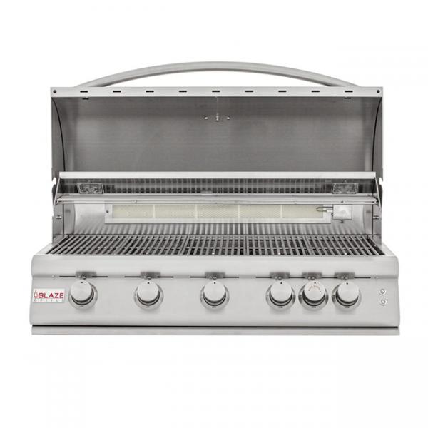blaze 40 inch 5-burner gas grill