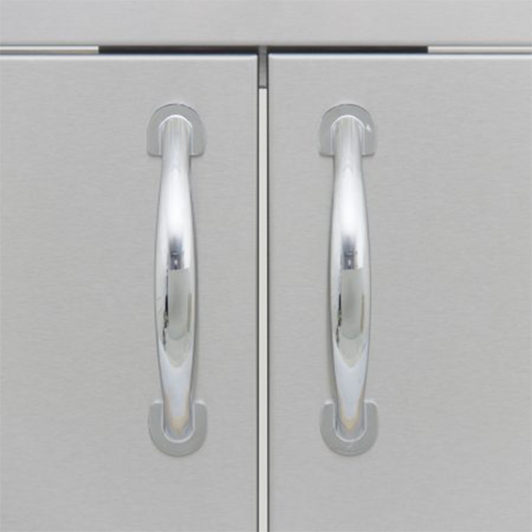 blaze double access door handles