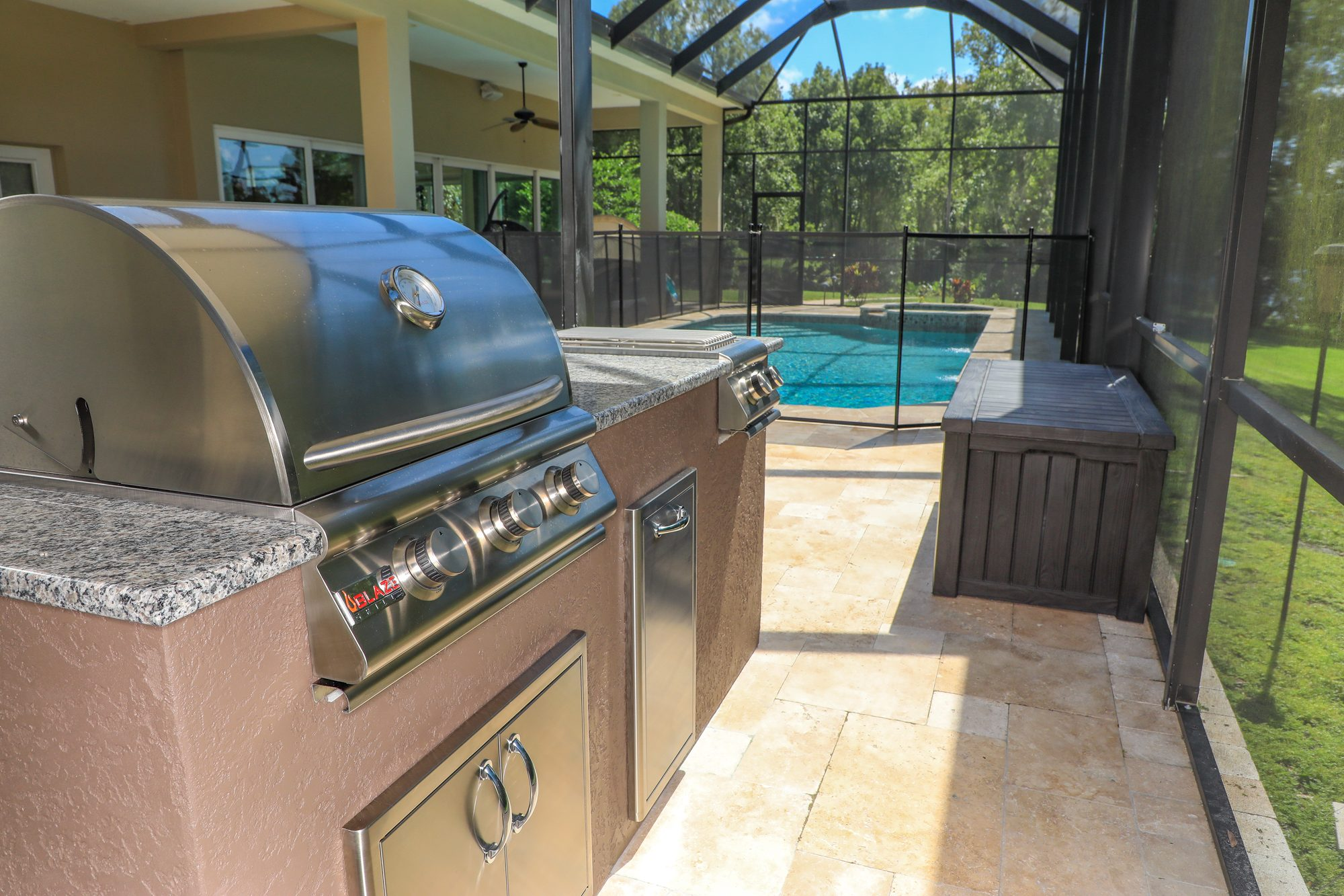 just grillin outdoor kitchen island