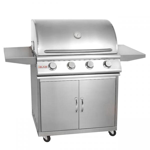Blaze Grills Prelude LBM 32 Inch 4-Burner Gas Grill Cart