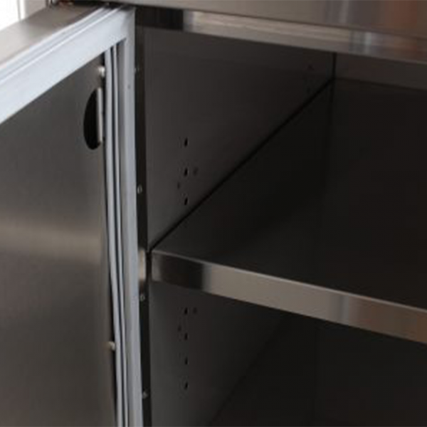Blaze Stainless Steel Dry Pantry