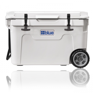 Blue Coolers 55 Quart Ice Vault With Wheels