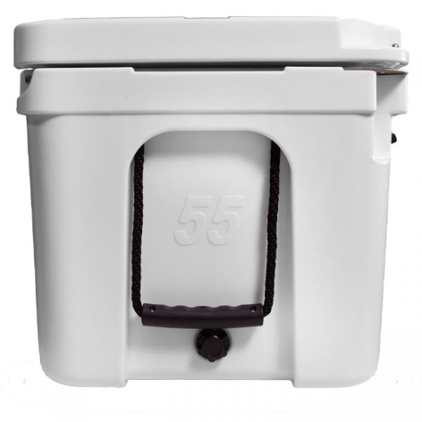 Blue Coolers 55qt Ice Vault Cooler White