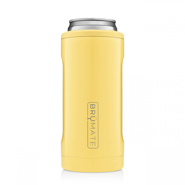 BruMate Slim Can Cooler Daisy