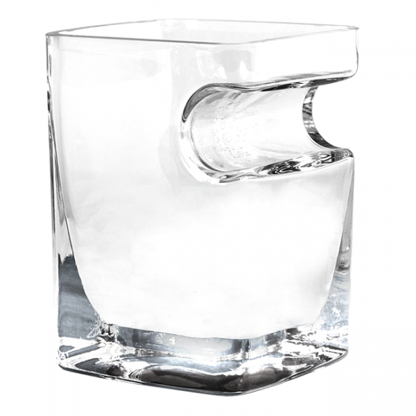 Corkcicle Cigar Glass - Double Old-Fashioned Glass With Built-In Cigar Holder