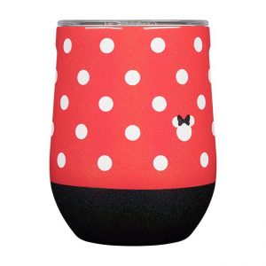 Corkcicle Disney Minnie Mouse 12 OZ Stemless Cup
