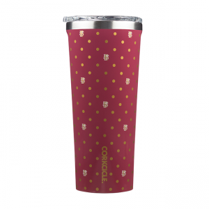 Corkcicle Florida State University Polka Dot 24 OZ Tumbler