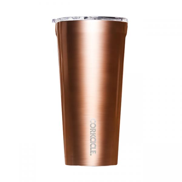 Corkcicle Metallic Copper 24 OZ Tumbler